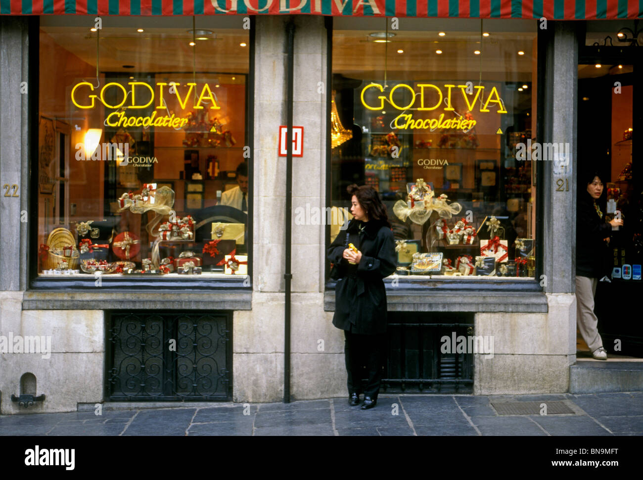 tourist, Godiva, Godiva chocolate, chocolate, chocolates Stock ...