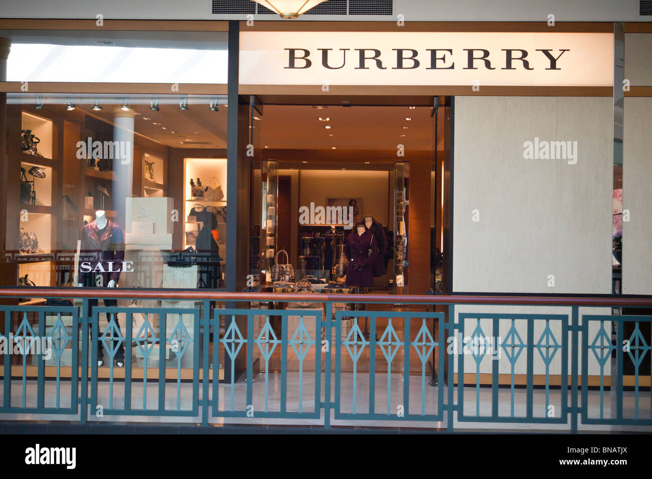 burberry store outlet xihk  Burberry store, King of Prussia Mall, near Philadelphia, PA, USA