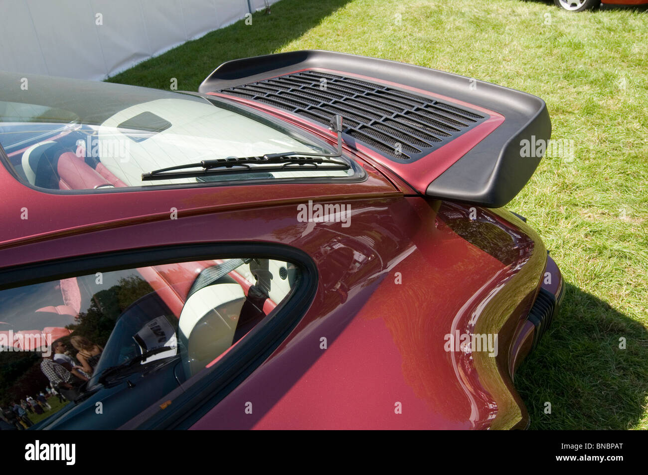 Porsche Roadster Whaletail Whale Tail Spoiler 911 80 S Eighthes Stock Photo Royalty Free Image