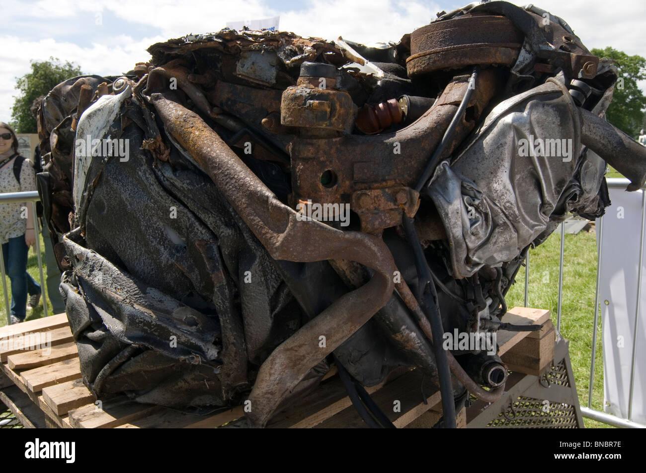 crushed car crusher crush scrap junk recycling squashed cars old ...