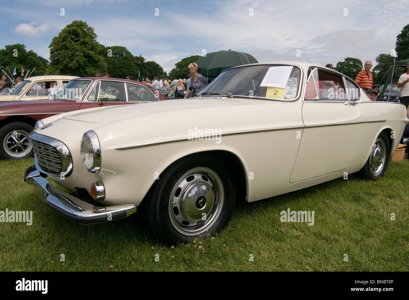 volvo p1800 sports sport classic car cars show shows showing Stock ...