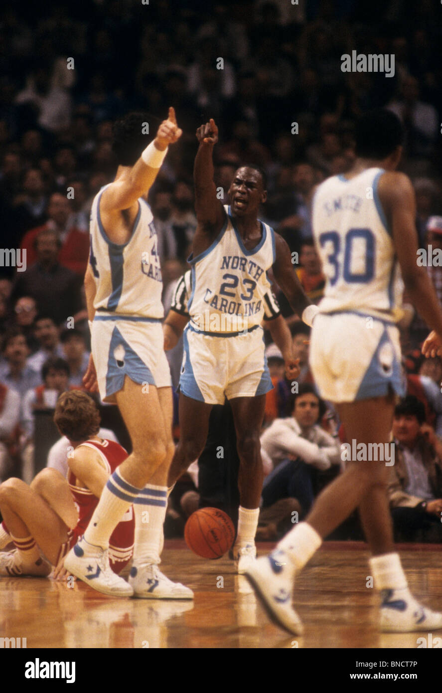 A photo of michael jordan as a college basketball player Michael Jordan Success Inspirational Motivational