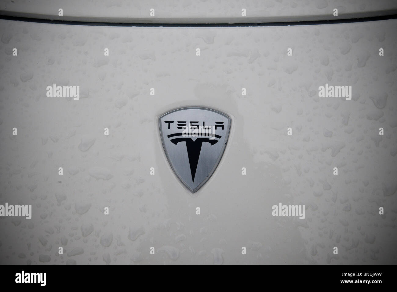 A tesla roadster is seen in new york stock photo 30418357 alamy a tesla roadster is seen in new york buycottarizona Gallery