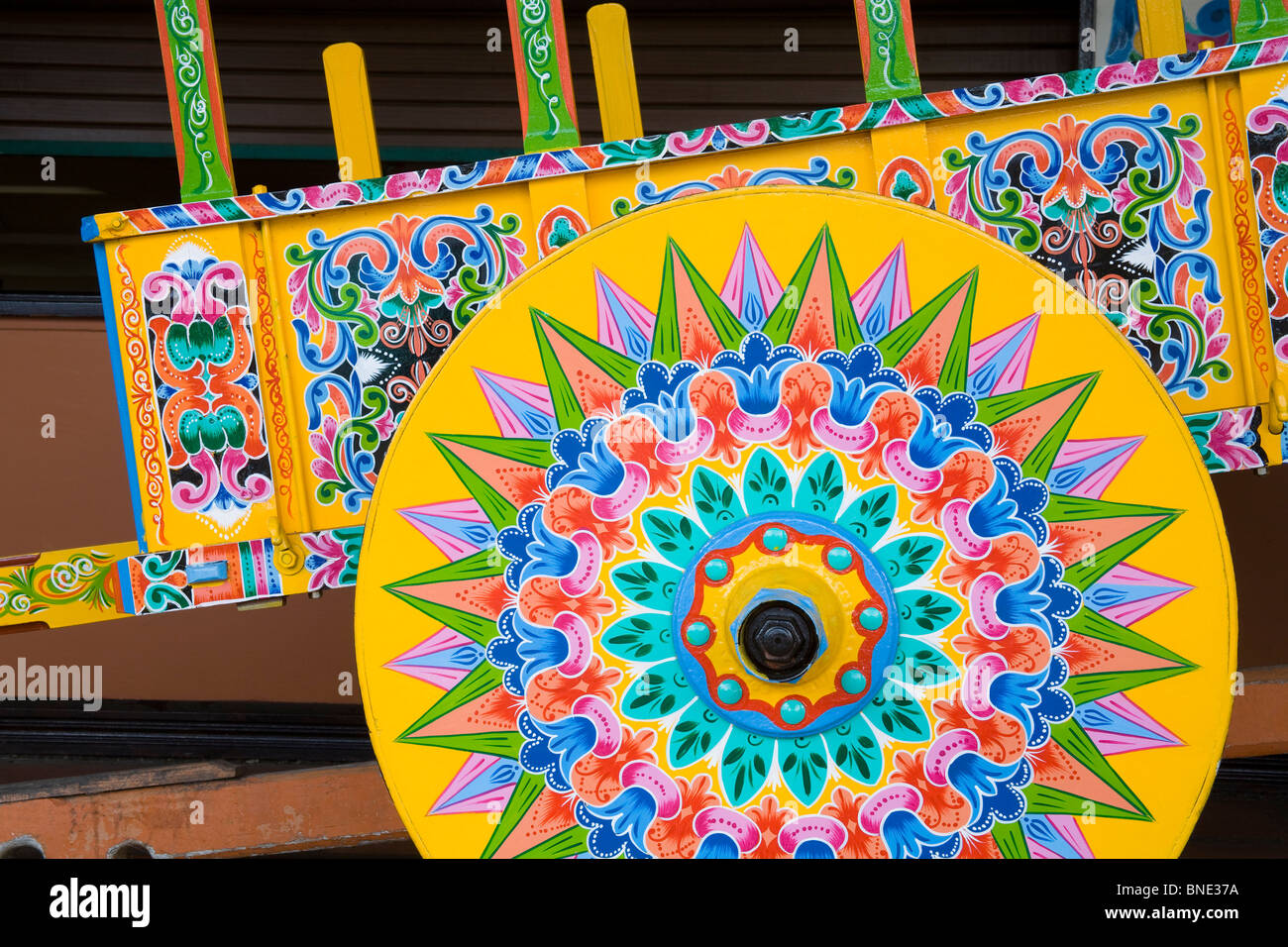 Costa Rican Ox Cart Craft