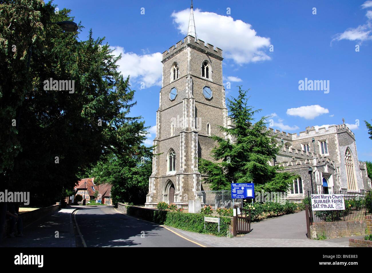 Ware United Kingdom  City new picture : ... Church, Church Street, Ware, Hertfordshire, England, United Kingdom