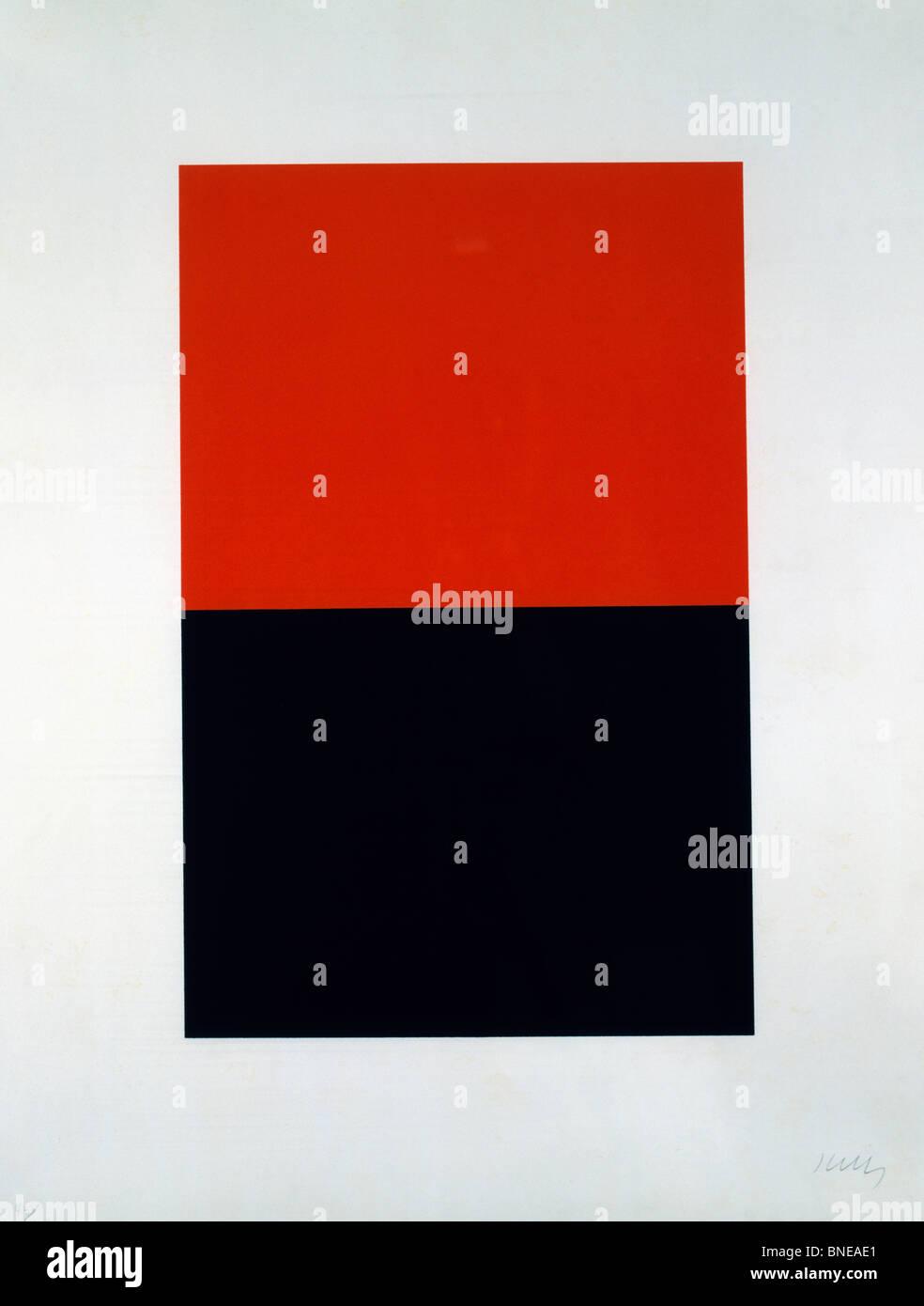 Orange Black By Ellsworth Kelly Silkscreen  B USA Florida - Black museums in usa