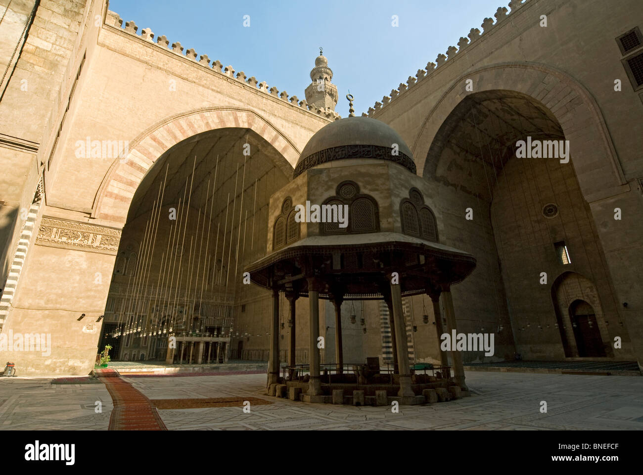 Sultan Hassan Mosque, Interior, Cairo, Egypt, North Africa, Africa   Stock Great Ideas