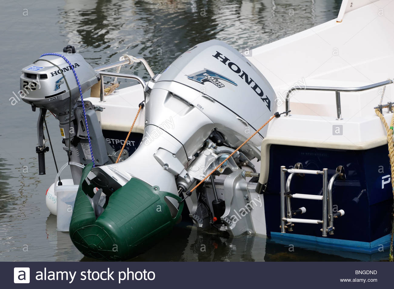 Honda Outboard Motor, England