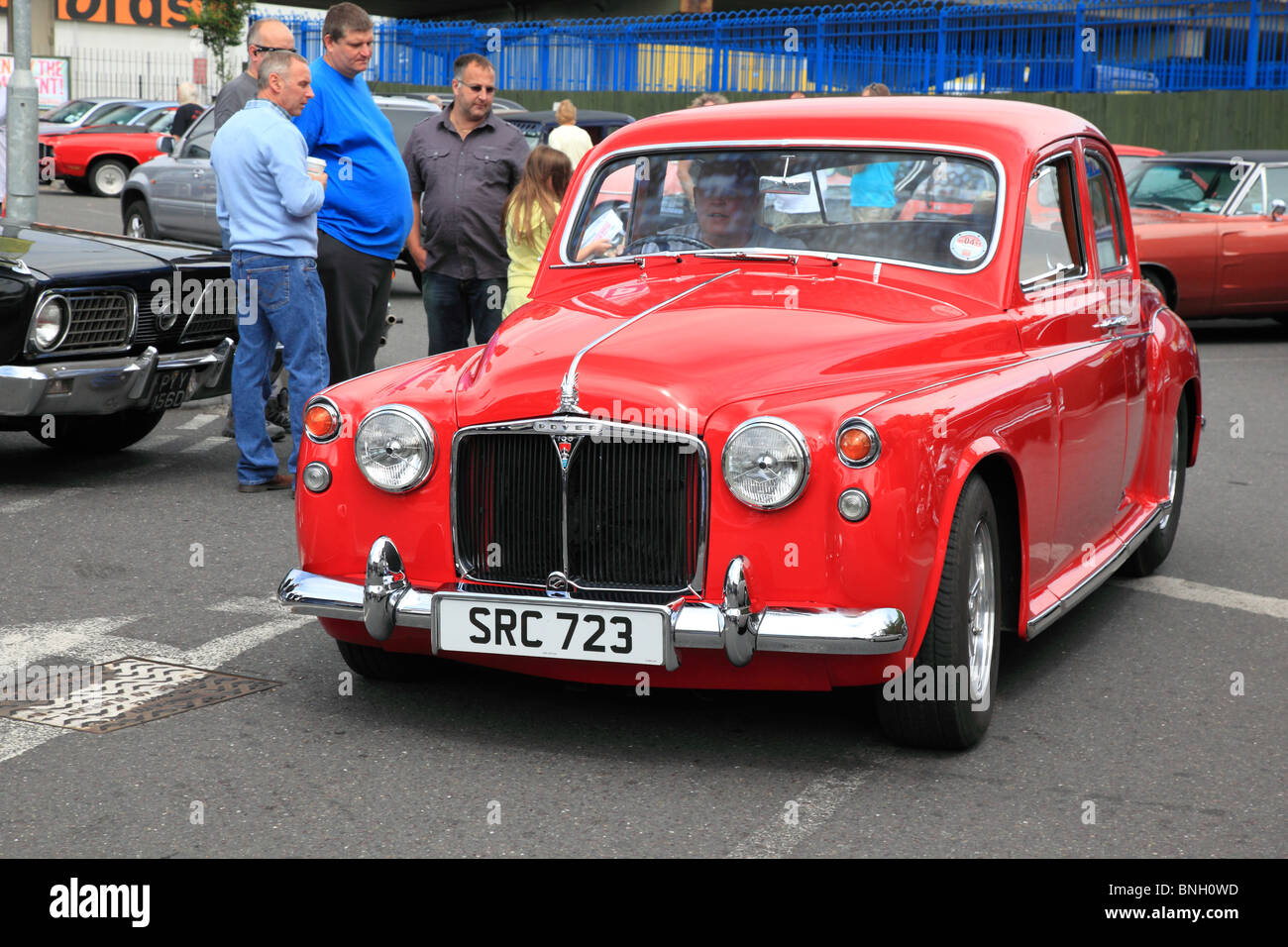 Rover 100 old car in New Malden, UK Stock Photo: 30492041 - Alamy