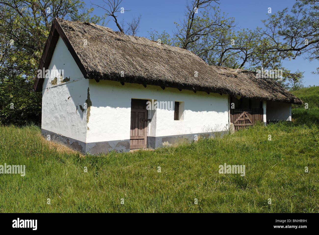 Csarda Old Farmhouse In Hortobagy Hungary Europe