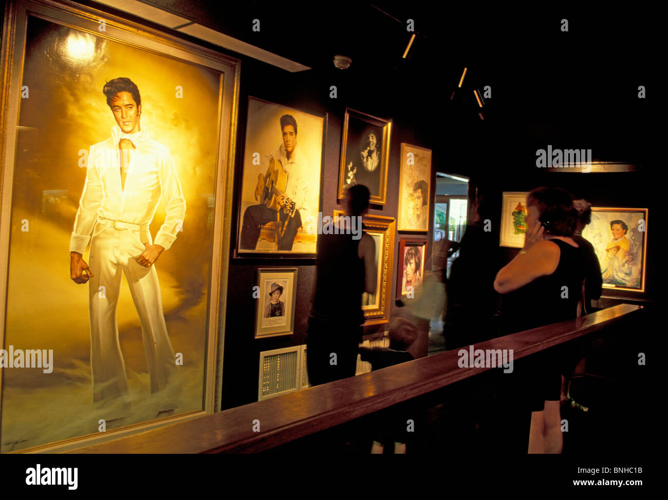Usa Memphis Tennessee Graceland Inside Indoors Music Elvis Presley - Music museums in usa