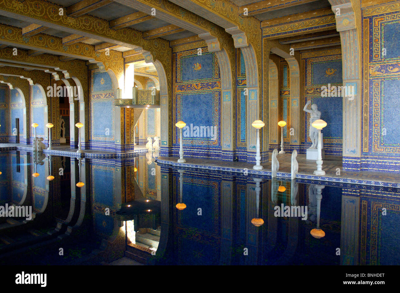 usa san simeon california hearst castle state park eclecticism