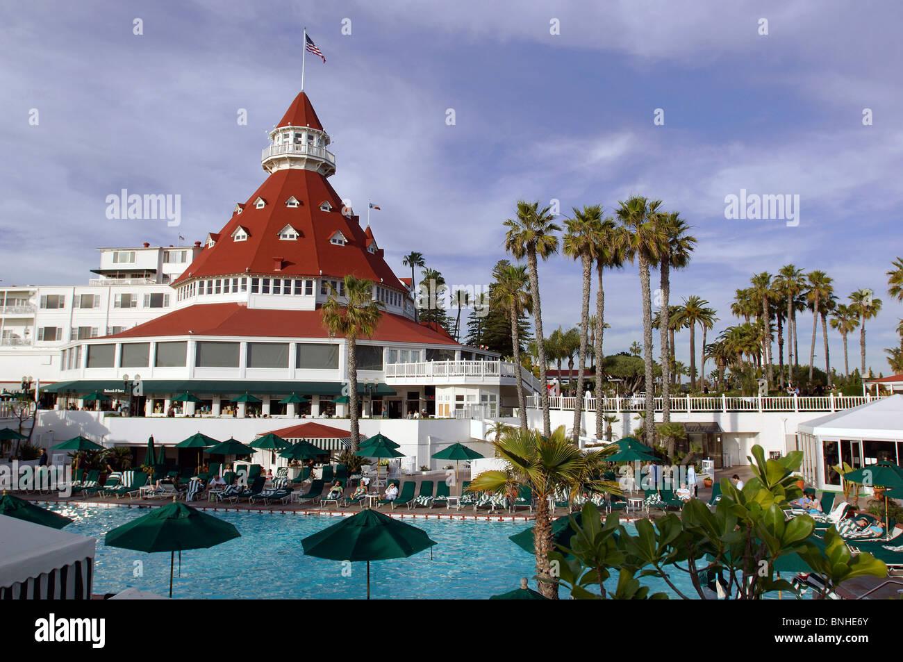 usa san diego california hotel del coronado coronado beach
