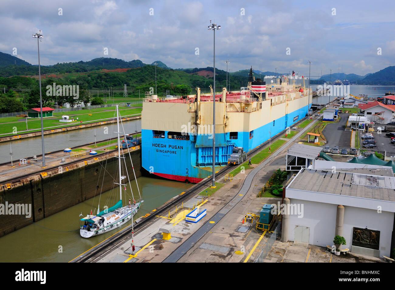 Panama Panama Canal Miraflores Locks Lock Panama City