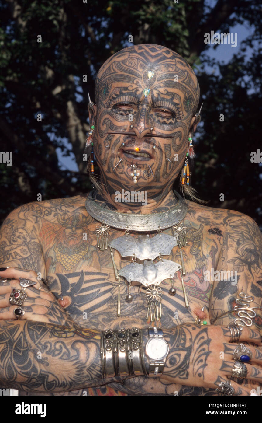 Tattoo piercing piercings extreme body tattooes Body modification ...