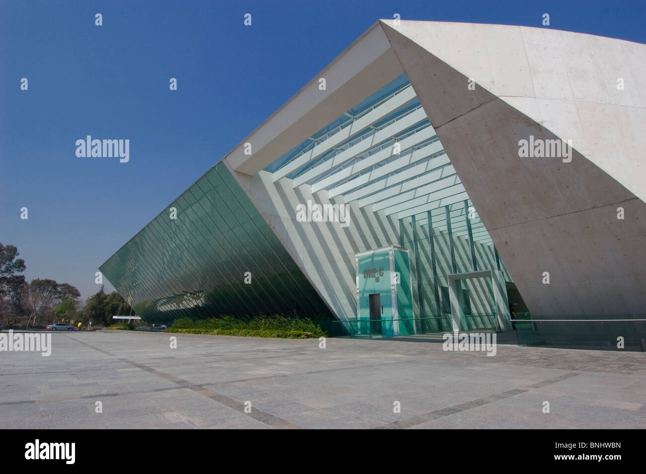 ... Muac university museum of contemporary art in mexico city campus stock  photo ...