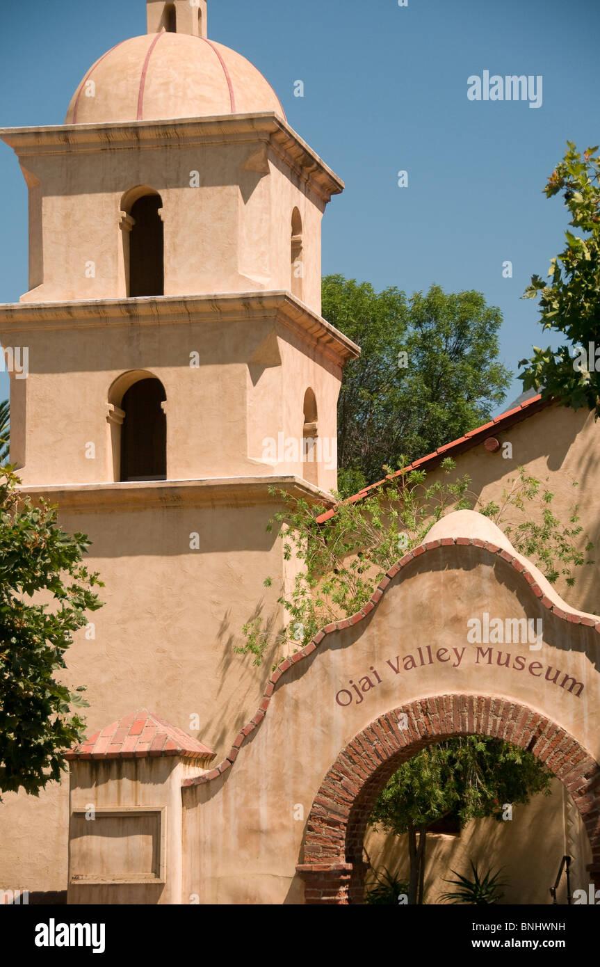 California mission style architecture - Mission Style Architecture Ojai Valley Museum Ojai Central California Usa