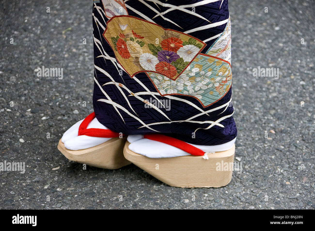 Japan Asia Tokyo City Town City Geisha Culture Tradition Geta