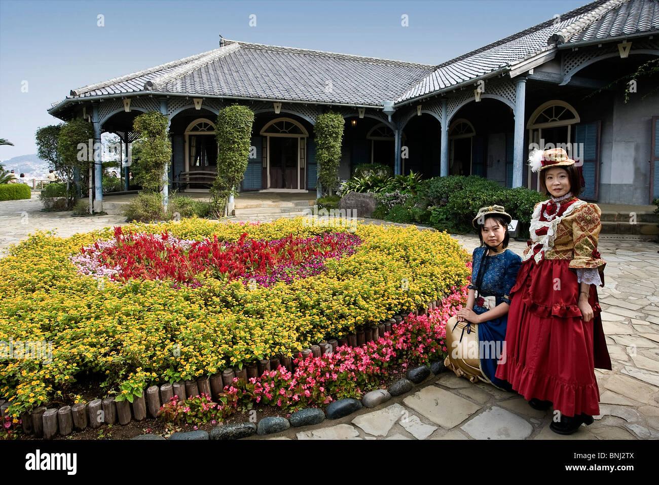 Japan Asia Kyushu Iceland Nagasaki City Glover Garden Glover House Stock Photo Royalty Free