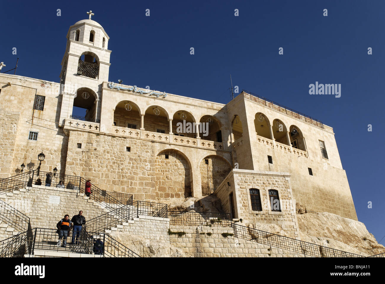Greek orthodox monastery sednaya saidnaya syria arabia for Architecture arabe