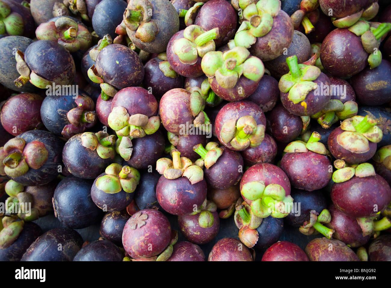 tropical asian fruits
