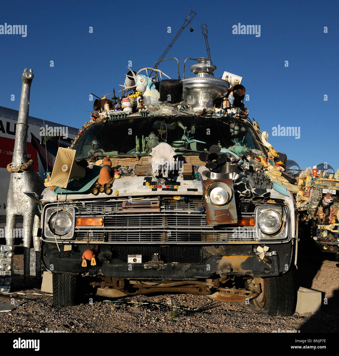 Car art Goldfield Nevada USA North America travel America old cars ...