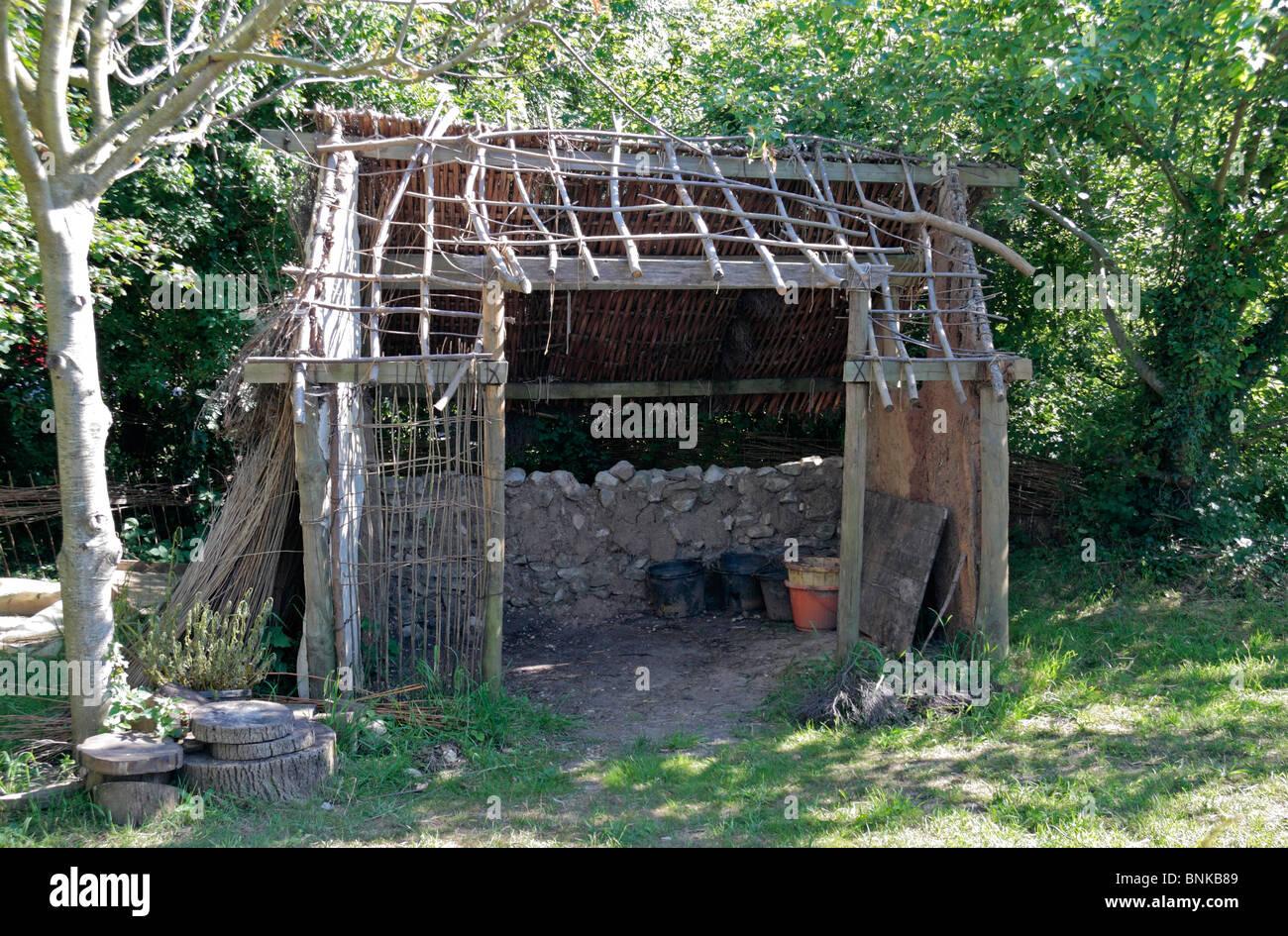 Wattle And Daub Medieval a 39 Wattle And Daub 39 Hut