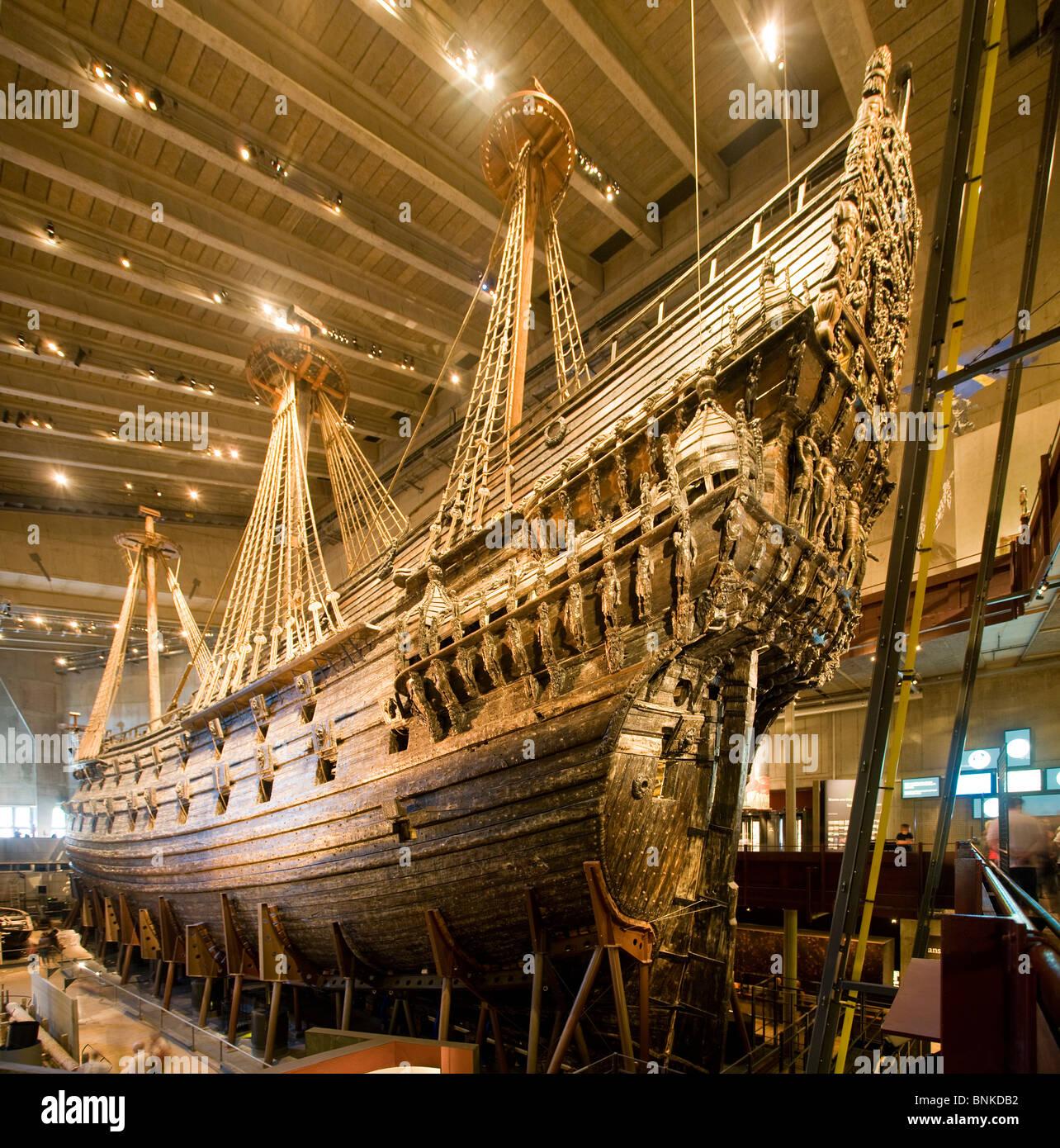 Sweden stockholm wasa vasa museum ship sailing ship for Vasa ship