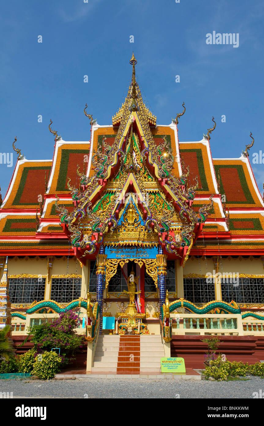 Asia Asian Island Isle Ko Samui South East Thailand Southern Temple Architecture Building Buildings