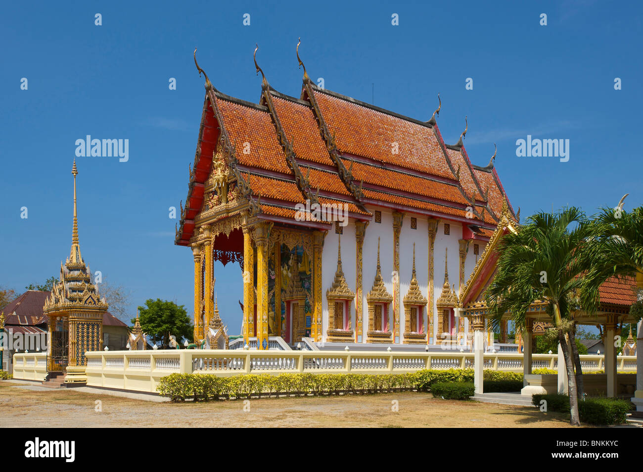 Asia Asian Island Isle Phuket South East Thailand Temple Architecture Building Buildings