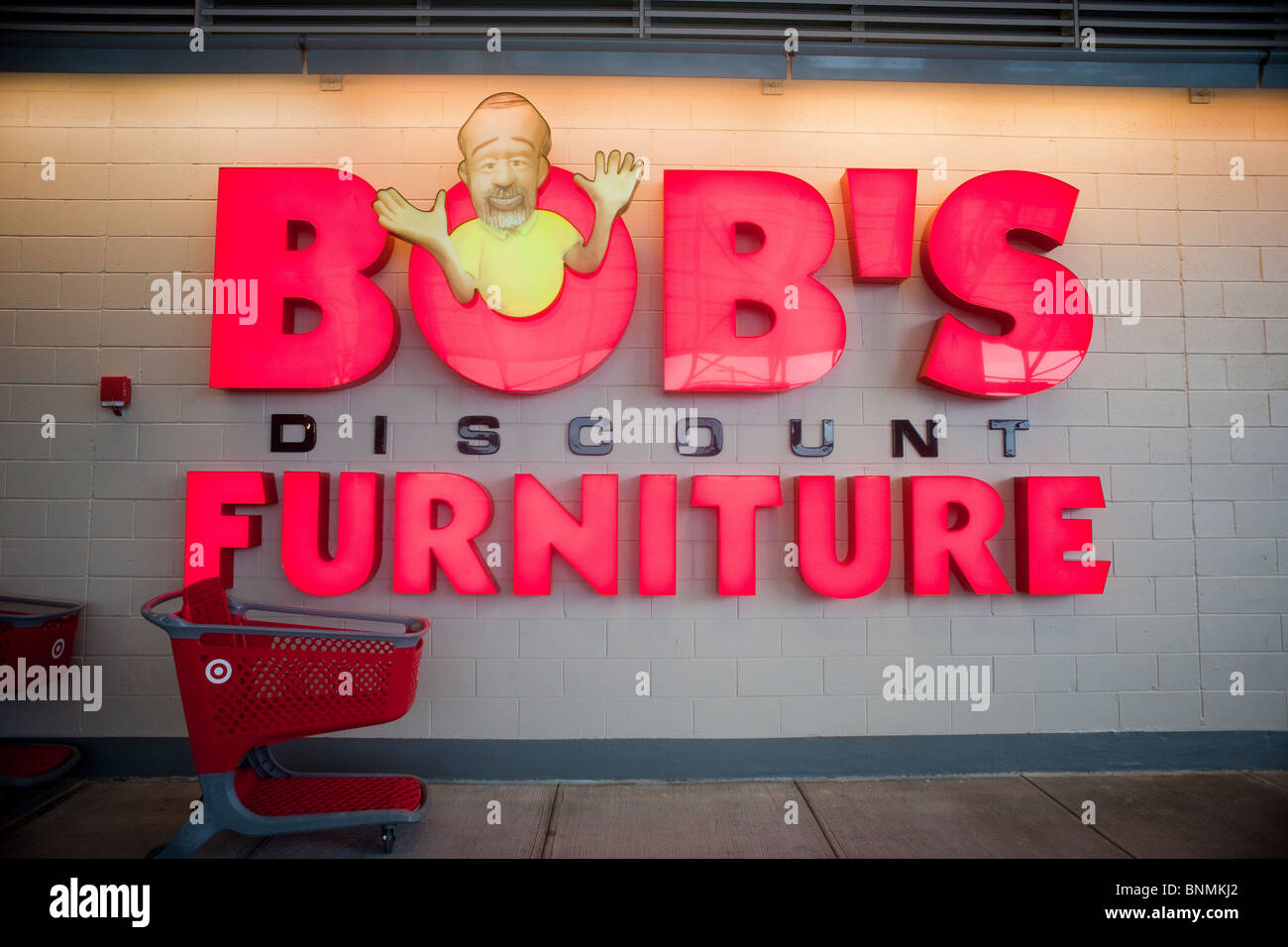 Beautiful Signage For The Bobu0027s Discount Furniture Store In The East River Mall In  East Harlem In New York