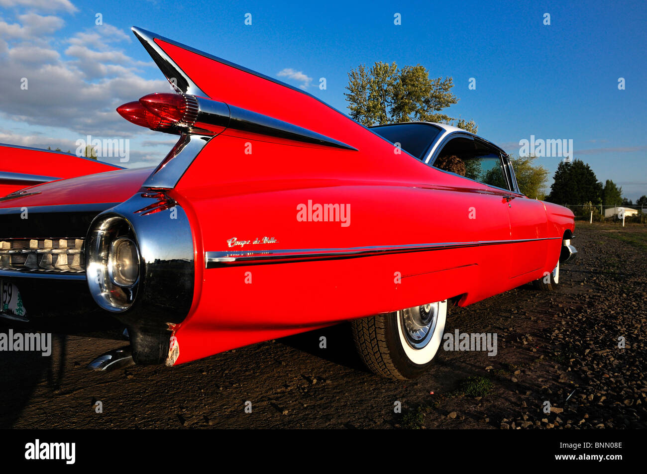 classic car car motor vu drive in dallas oregon usa 50ties tail fin stock photo royalty free. Black Bedroom Furniture Sets. Home Design Ideas