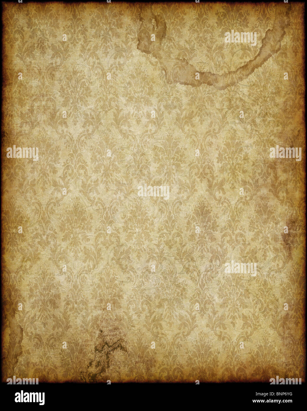 old worn parchment paper background texture image stock