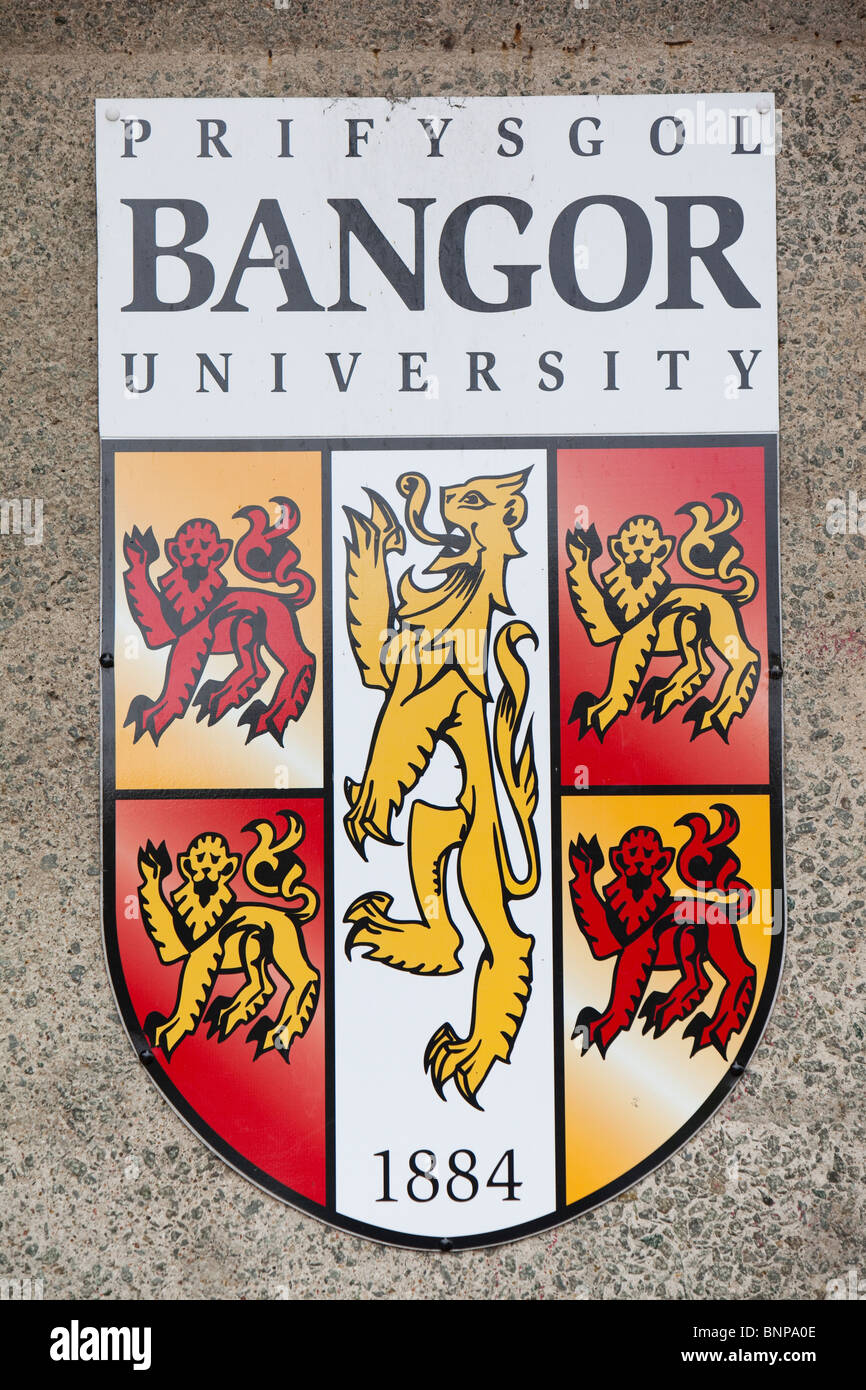 Welsh coat arms stock photos welsh coat arms stock images alamy the coat of arms for bangor university north wales stock image buycottarizona