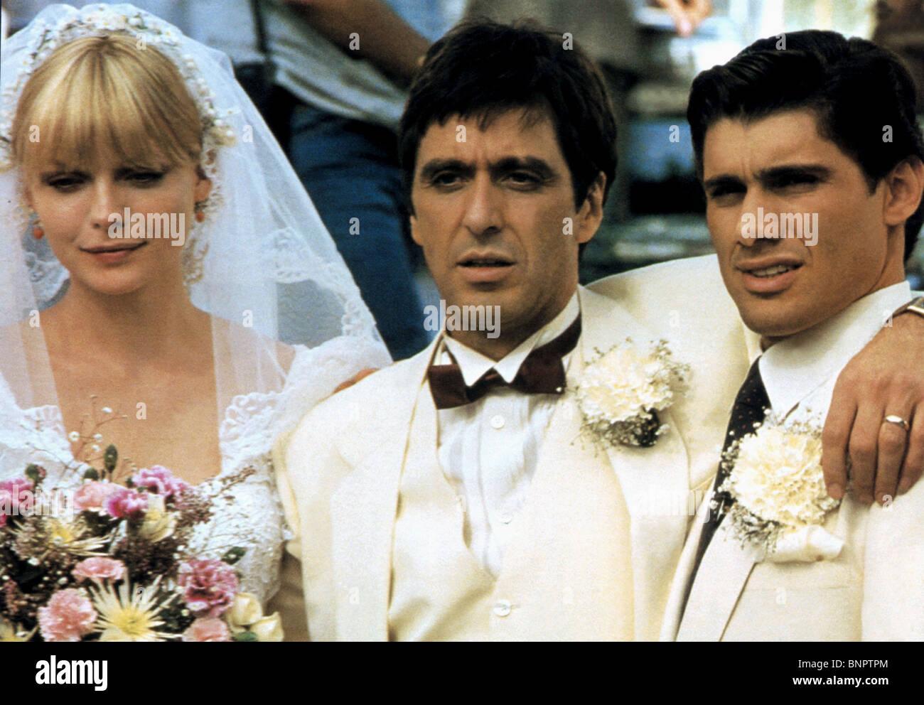 MICHELLE PFEIFFER AL PACINO & STEVEN BAUER SCARFACE (1983 ... Al Pacino Movies