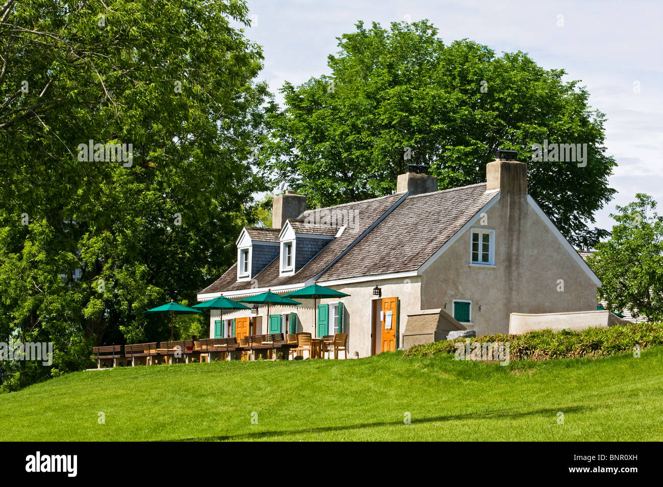 La Maison Des Auteurs In Parc Jacques Cartier Gatineau Quebec Stock Photo Royalty Free Image