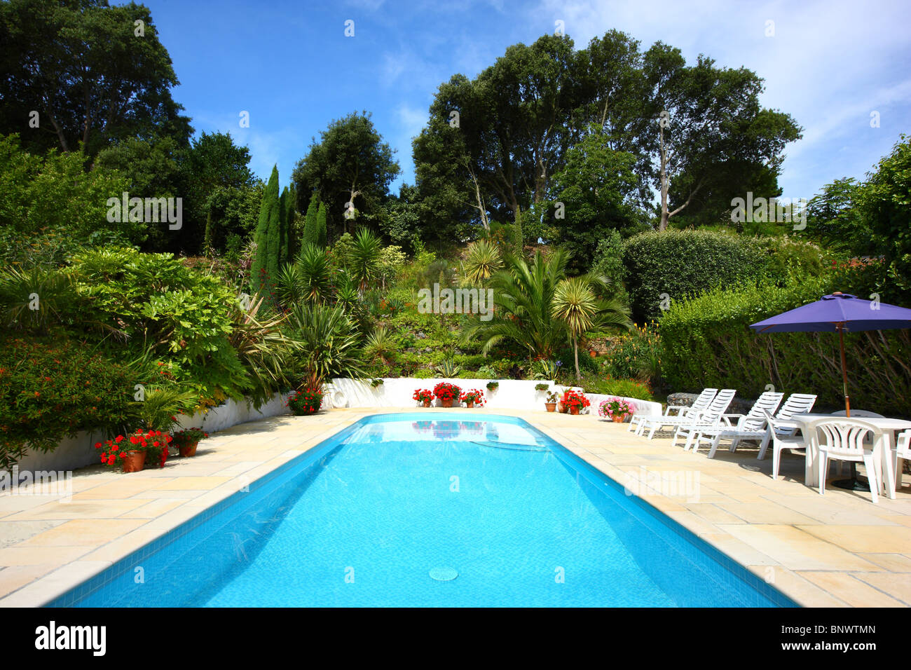 mille fleurs garden and vacation apartments in a huge garden with