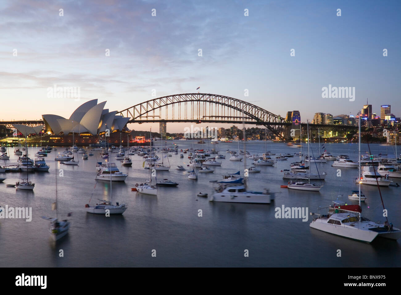 boats fill sydney harbour for new year 39 s eve celebrations sydney stock photo 30696153 alamy. Black Bedroom Furniture Sets. Home Design Ideas