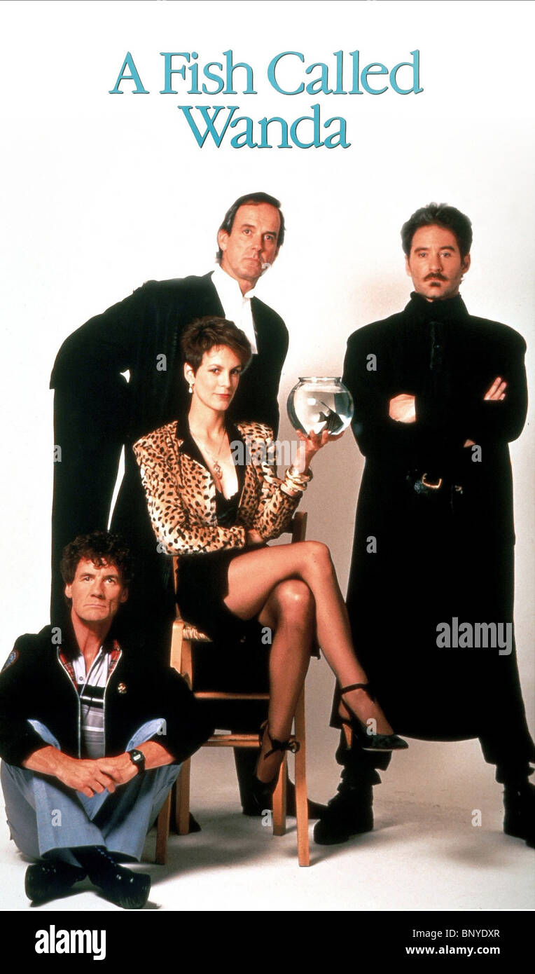 Michael palin john cleese jamie lee curtis kevin kline a for A fish called wanda cast