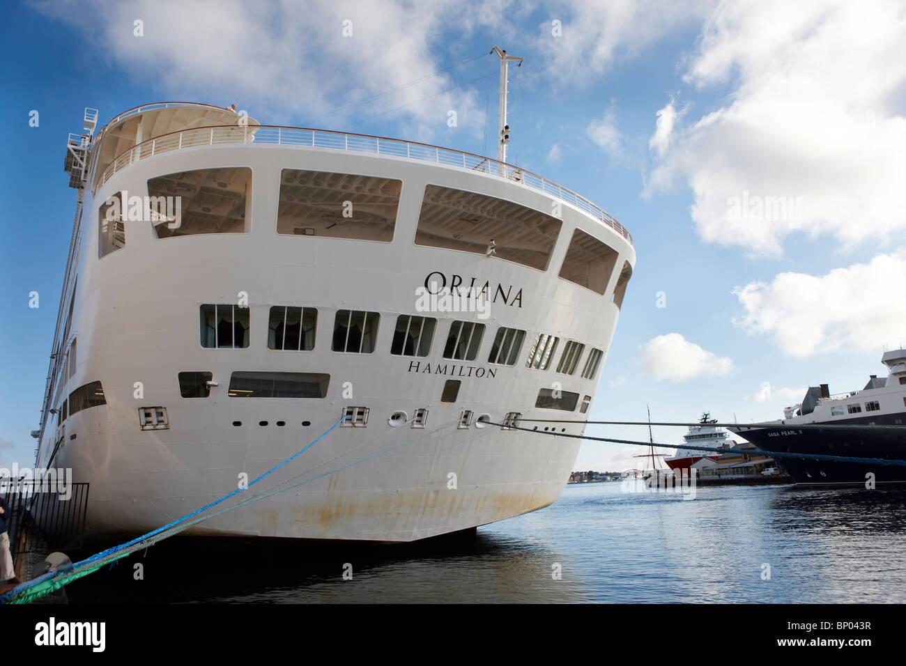 P O Cruises Cruise Liner Oriana Stock Photo Royalty Free Image - P and o cruises ships