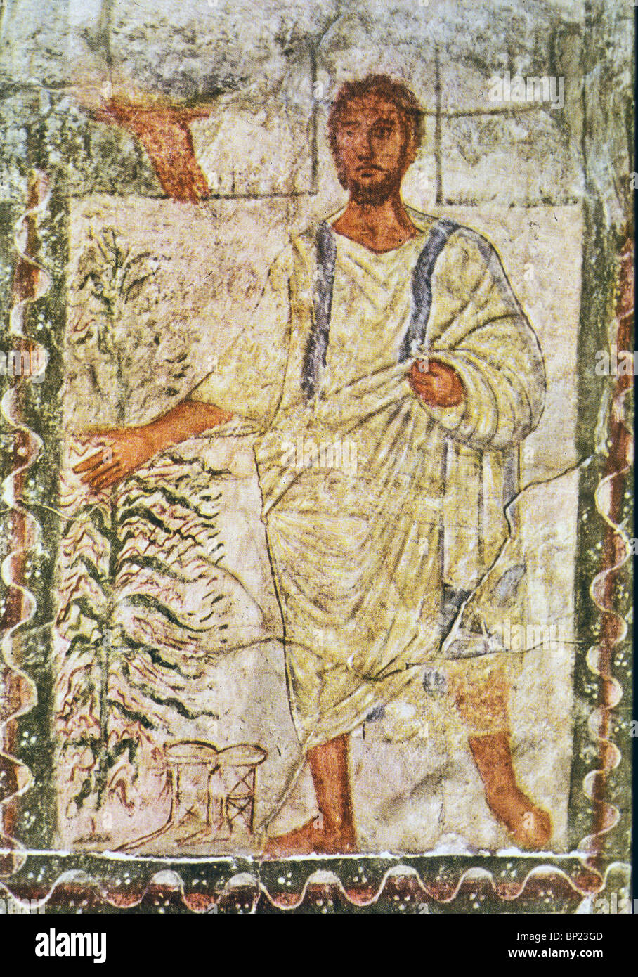 MOSES Amp THE BURNING BUSH WALL PAINTING FROM DURA EUROPOS