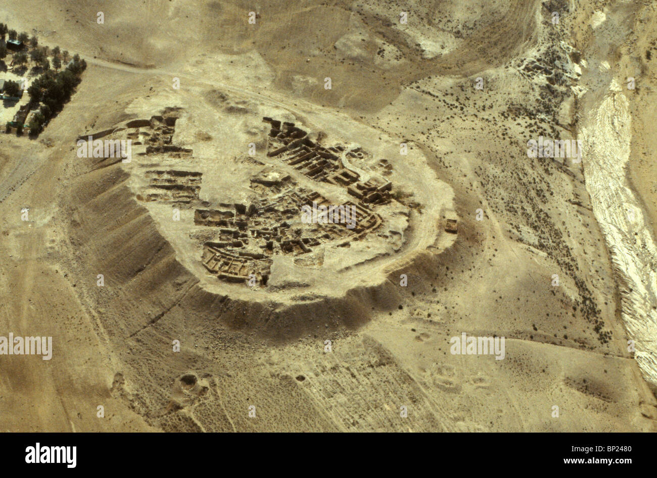 tel beersheba aerial view of the ancient city mentioned in the