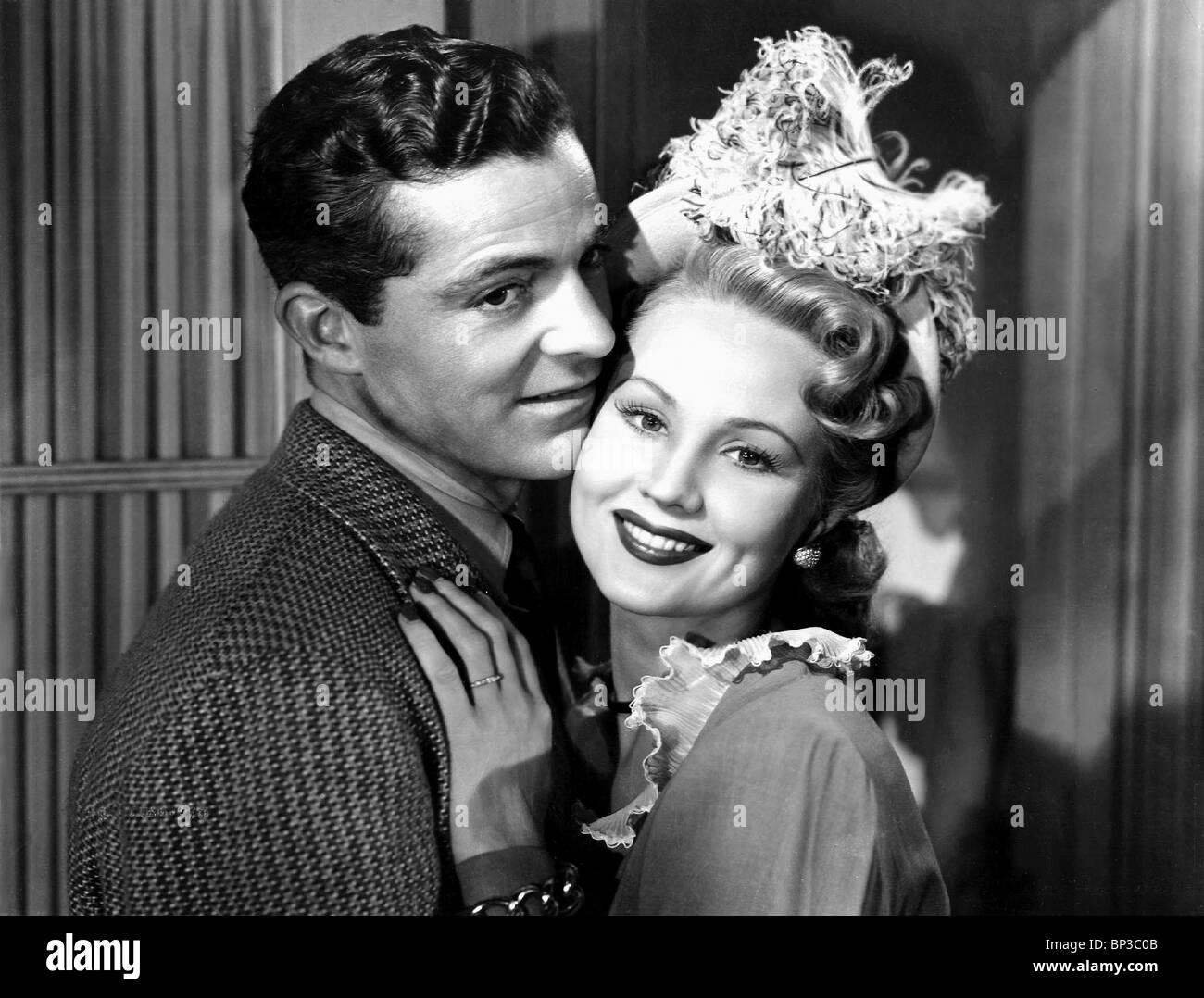 DANA ANDREWS, VIRGINIA MAYO, THE BEST YEARS OF OUR LIVES