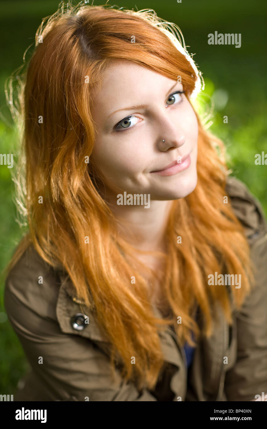 Redhead young young
