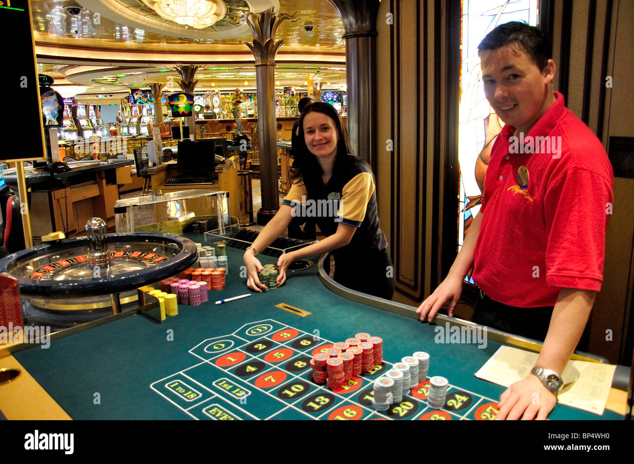 Casino dealer royal caribbean