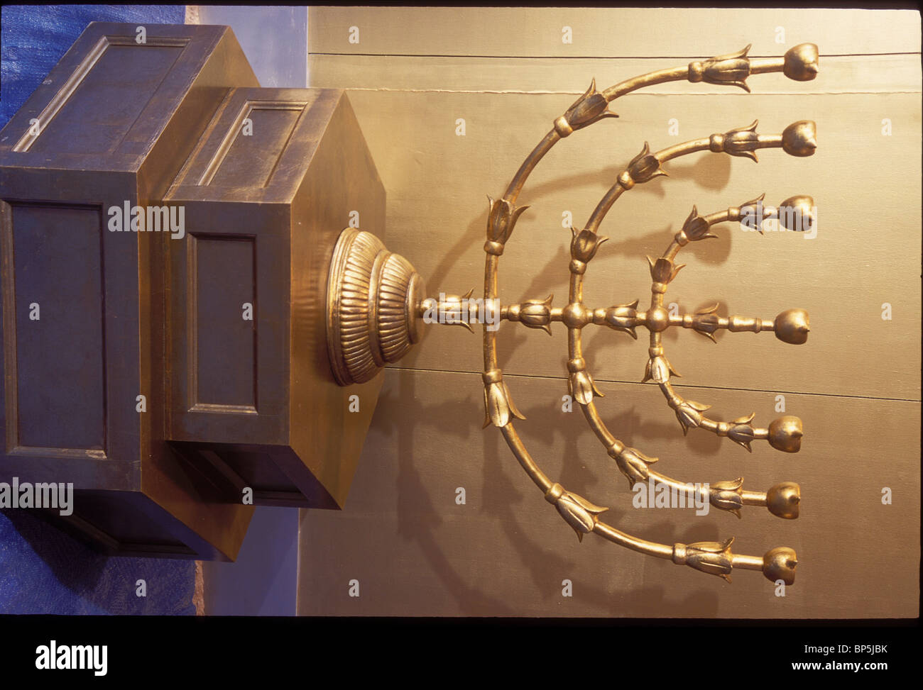 GOLDEN MENORAH (CANDELABRUM) SYMBOLIZING THE TREE OF LIFE WAS LOCATED IN THE u0027HOLY PLACEu0027 INSIDE THE TABERNACLE TENT (EXODUS & GOLDEN MENORAH (CANDELABRUM) SYMBOLIZING THE TREE OF LIFE WAS ...