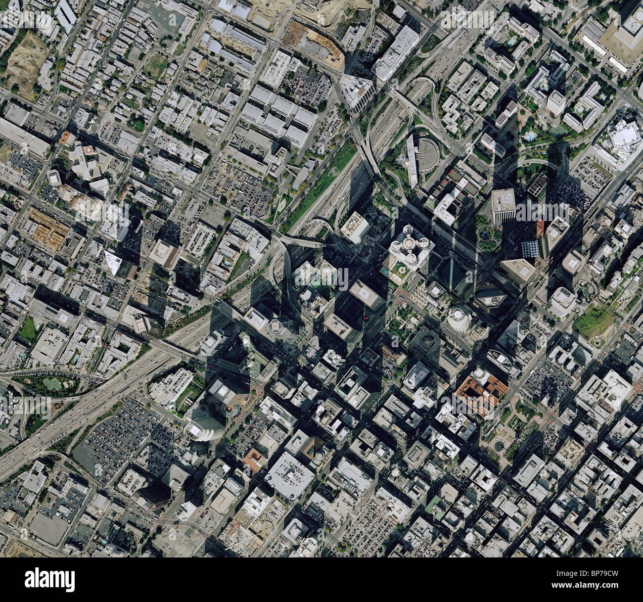 Los Angeles Downtown Map Digital Creative Force LA History - Los angeles geography map