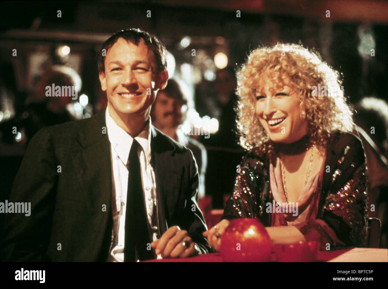 frederic forrest amp bette midler the rose 1979 stock photo