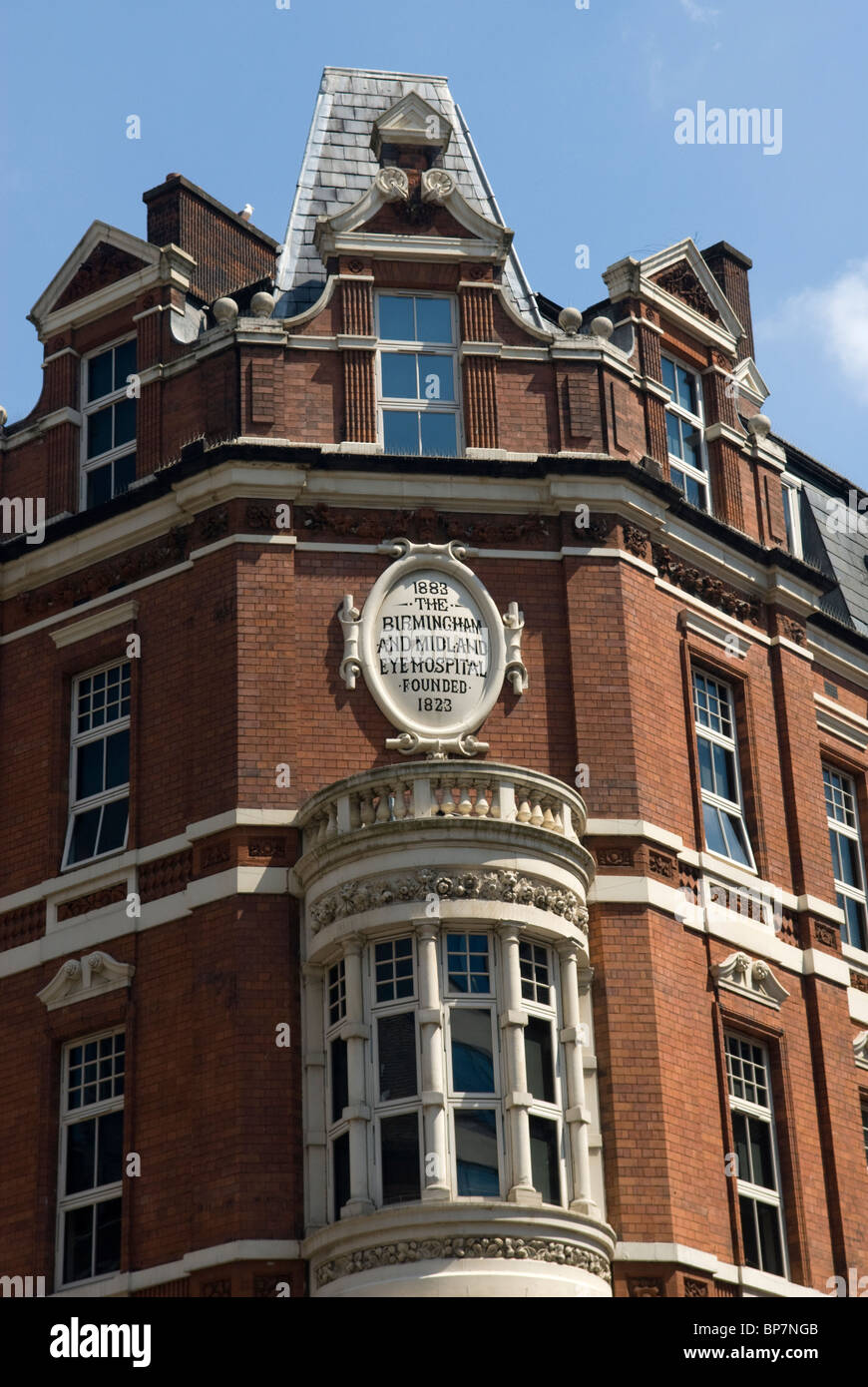 The the old Birmingham and Midland Eye Hospital building, now ...