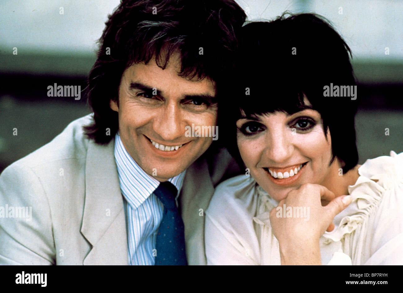 dudley moore amp liza minnelli arthur 1981 stock photo